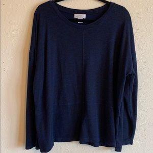 Liz Claiborne long sleeve loose fitting shirt szXL